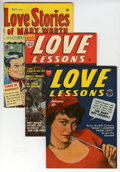 Golden Age (1938-1955):Romance, Love Lessons and Love Stories of Mary Worth - File Copy Group(Harvey, 1940s-50s) Condition: Average VF.... (Total: 10 ComicBooks)