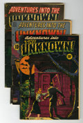 Golden Age (1938-1955):Horror, Adventures Into The Unknown Group (ACG, 1948-64) Condition: AverageFR/GD.... (Total: 30 Comic Books)