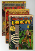 Golden Age (1938-1955):Horror, Adventures Into The Unknown Group (ACG, 1951-67) Condition: GD....(Total: 35 Comic Books)