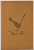 Books:Books about Books, Jeff Dykes. My Dobie Collection. [College Station]: Friends of the Texas A&M University Library, [1971]. First e...