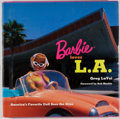 Books:Signed Editions, Greg LaVoi. INSCRIBED. Barbie Loves L. A. [Santa Monica]: Angel City, [2004]. First edition, first printing. I...