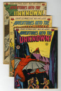 Golden Age (1938-1955):Horror, Adventures Into The Unknown Group (ACG, 1950-52).... (Total: 9Comic Books)