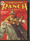 Pulps:Western, Thrilling Ranch Stories Bound Volumes (Rugby House, Inc., 1935).... (Total: 2 )