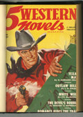 Pulps:Western, 5 Western Novels Bound Volumes (Standard Magazines, 1949-53).... (Total: 2 )