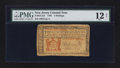Colonial Notes:New Jersey, New Jersey 1786 3s PMG Fine 12 Net.. ...
