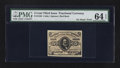 Fractional Currency:Third Issue, Fr. 1236 5¢ Third Issue PMG Choice Uncirculated 64 EPQ.. ...
