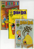Bronze Age (1970-1979):Humor, Richie Rich File Copy Short Box Group (Harvey, 1977-89) Condition:Average NM-....