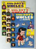 Silver Age (1956-1969):Humor, Little Dot's Uncles and Aunts File Copy Short Box Group (Harvey, 1962-74) Condition: Average VF/NM....