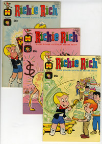 Richie Rich File Copy Short Box Group (Harvey, 1969-77) Condition: Average VF/NM