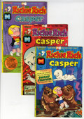 Bronze Age (1970-1979):Cartoon Character, Richie Rich and Casper #1 and 3-45 File Copy Group (Harvey, 1974-82) Condition: Average NM-.... (Total: 79 Comic Books)