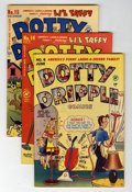 Golden Age (1938-1955):Humor, Dotty Dripple File Copy Group (Harvey, 1949-55) Condition: Average VF+.... (Total: 29 Comic Books)