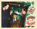 """Movie Posters:Comedy, Arsenic and Old Lace (Warner Brothers, 1944). Lobby Card (11"""" X14"""").. ..."""