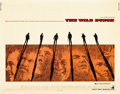 "Movie Posters:Western, The Wild Bunch (Warner Brothers, 1969). Half Sheet (22"" X 28"").. ..."
