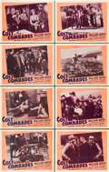 """Movie Posters:Western, Colt Comrades (Variety, R-Late 1940s). Lobby Card Set of 8 (11"""" X 14"""").. ... (Total: 8 Items)"""