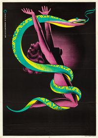 "Creeping Poison (International, 1946). Austrian Poster (33.5"" X 48"")"