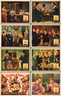 """Movie Posters:Comedy, The Big Noise (20th Century Fox, 1944). Lobby Card Set of 8 (11"""" X14"""").. ... (Total: 8 Items)"""