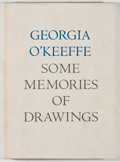 Books:Art & Architecture, Georgia O'Keeffe. Some Memories of Drawings. Albuquerque: University of New Mexico Press, [1988]. Later edition....
