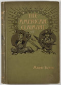 Books:First Editions, Mark Twain. The American Claimant. New York: Charles L.Webster, 1892. First edition. Octavo. 273 pages. Publisher's...