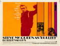 "Movie Posters:Crime, Bullitt (Warner Brothers, 1968). Half Sheet (22"" X 28"").. ..."