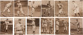 Baseball Cards:Sets, 1909-13 M101-2 Sporting News Supplements Near Set (64/100). ...