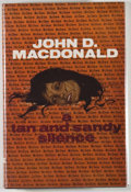 Books:Mystery & Detective Fiction, John D. MacDonald. A Tan and Sandy Silence. London: RobertHale, [1973]. First British edition, first printing. Octa...