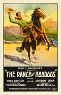 "Movie Posters:Western, The Ranch of Hoodoos (Fred J. Balshofer, 1926). One Sheet (26.5"" X 41"").. ..."