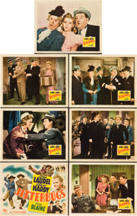 """Jitterbugs (20th Century Fox, 1943). Title Lobby Card and Lobby Card (6) (11"""" X 14""""). ... (Total: 6 Items)"""