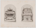 Antiques:Posters & Prints, Lot of 12 Steel Engravings Featuring Furniture Displayed at the Great Exhibition of 1851. From Tallis's History and Descri...