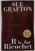 Books:Signed Editions, Sue Grafton. SIGNED. R is for Ricochet. New York: G. P. Putnam's Sons, 2004. First edition. Signed by the ...