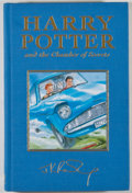 Books:Children's Books, J. K. Rowling. Harry Potter and Chamber of Secrets.[London]: Bloomsbury, [1999]. First U.K. deluxe edition. Oct...
