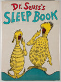 Books:Children's Books, Dr. Seuss. Dr. Seuss's Sleep Book. New York: Random House, [1962]. First edition in first issue dust jacket. Quarto....