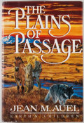 Books:Signed Editions, Jean M. Auel. SIGNED. The Plains of Passage. New York: Crown, [1990]. First edition, first printing. Signed by Aue...