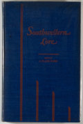 Books:Signed Editions, J. Frank Dobie [editor]. SIGNED. Southwestern Lore. Dallas: Southwest Press, 1931. First edition, first printing. ...