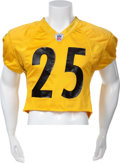 Football Collectibles:Uniforms, 2006 Ryan Clark Practice Worn, Signed Pittsburgh Steelers Jersey....