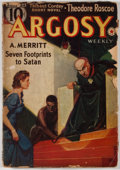Books:Pulps, Argosy. Volume 291. No. 3. New York: Munsey, 1939. Firstedition. Octavo. 127 pages. Publisher's wrappers with light...