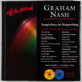 Books:Music & Sheet Music, Graham Nash. SIGNED. Off the Record: Songwriters on Songwriting. Kansas City: Andrews McMeel, [2002]. First edition,...