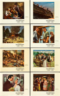 "Movie Posters:Adventure, Drums Along the Mohawk (20th Century Fox, 1939). Deluxe Lobby CardSet of 8 (11"" X 14"").. ... (Total: 8 Items)"