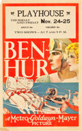"Movie Posters:Historical Drama, Ben-Hur (MGM, 1925). Window Card (14"" X 22"").. ..."