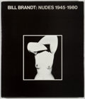 Books:Photography, Bill Brandt. Nudes 1945-1980. London: Gordon Fraser, 1980. First edition. Quarto. 100 pages. Publisher's binding and...
