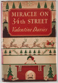 Books:First Editions, Valentine Davies. Miracle on 34th Street. New York:Harcourt, Brace, [1947]. First edition, first printing. Octavo. ...