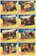 """Movie Posters:Western, In Old Colorado (Paramount, 1941). Lobby Card Set of 8 (11"""" X 14"""").. ... (Total: 8 Items)"""