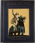 Books:Color-Plate Books, Frank E. Schoonover [illustrator]. Lucy Foster Madison. Joan ofArc: The Warrior Maid. Philadelphia: Penn, 1918. Fir...