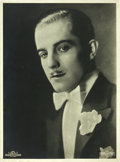 "Movie Posters:Photo, Ramón Novarro (MGM/Parufamet, 1920s). German Portrait Photo (11.25""X 15.25"").. ..."