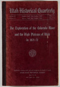 Books:Natural History Books & Prints, Utah Historical Quarterly. Volume XVI-XVII. The Exploration of the Colorado River and the High Plateaus of Utah in 1871-72....