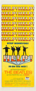 "Movie Posters:Rock and Roll, Help! (United Artists, 1965). Insert (14"" X 36"").. ..."
