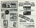 "Movie Posters:Miscellaneous, Humphrey Bogart Lot (Columbia and Warner Brothers, 1947, 1948, &1950). Uncut Pressbooks (3) (16 Pages, 12"" X 16""; 12 Pages, ... (Total: 3 Items)"