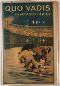 Books:Fiction, Henryk Sienkiewicz. Quo Vadis. New York: Grosset & Dunlap, [1925]. Photoplay edition. Octavo. 541 pages. Publish...