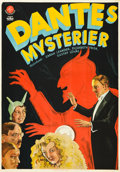 "Movie Posters:Drama, Dante's Mysteries (Svensk Filmindustri, 1931). Swedish Poster(27.5"" X 39"").. ..."