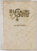 Books:Americana & American History, Dee Woods. Blaze of Gold: Treasure Tales of the Texas Coast.San Antonio: Naylor, 1942. First edition. Octavo. 1...