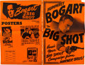 """Movie Posters:Miscellaneous, Humphrey Bogart Lot (Warner Brothers, 1937 & 1942). Uncut Pressbooks (3) (18 Pages, 22 Pages and 24 Pages, 11"""" X 17"""").. ... (Total: 3 Items)"""